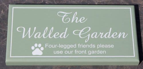 Single Sided Painted Accoya Wood Signs | The Sign Maker Shop